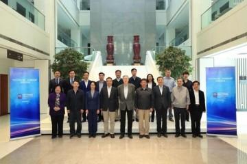 周小川等出席服务经济与数字治理研究院内部研讨会WTO与中国