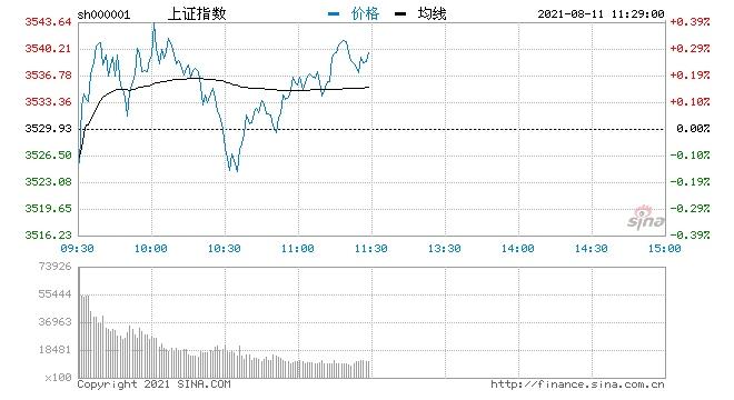 午评三大指数走势分化沪指表现强势储能板块掀涨停潮